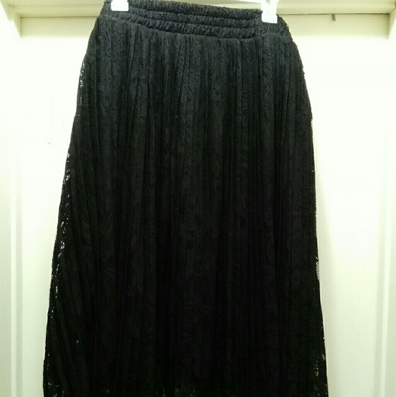 588b6ec415 torrid Skirts | Lace Pleated Skirt | Poshmark
